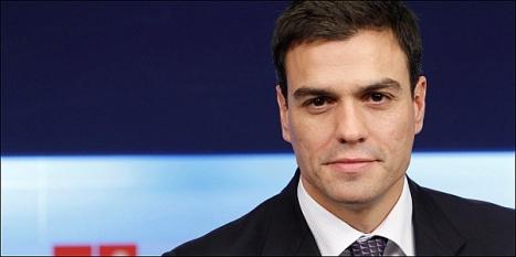 Pedro Sánchez - Secretario General del PSOE