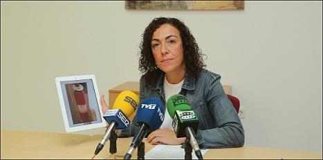 Rosario Martínez, ayer en Rueda de Prensa (GFoto: J. Carrión)