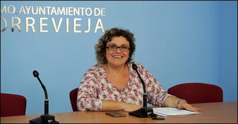 África Celdrán -PSOE- (Foto: J. Carrión)