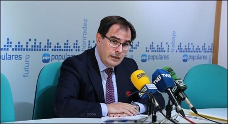 Joaquín Albaladejo, secretario general del PP. (Foto: J. Carrión)