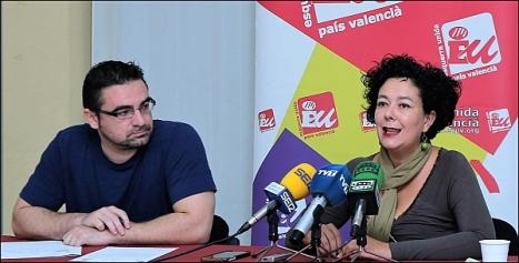 Víctor Ferrán y Raquel (Foto: J. Carrión)