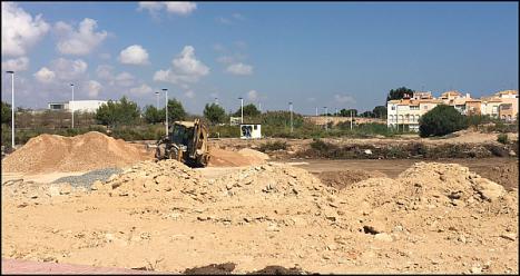 Terrenos de Villa Amalia, donde quiere el CEIP Amanecer el nuevo ccentro