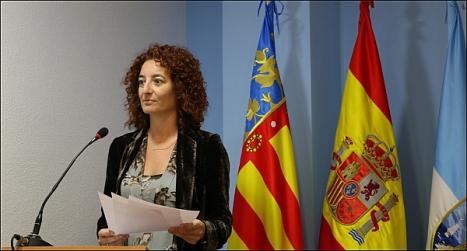 Fanny Serrano (PSOE), sercretaria de la JGL