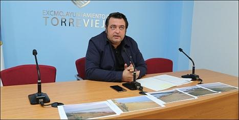 Javier Manzanares, concejal de Playas (Foto: J. Carrión)