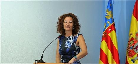 Fanny Serrano, secretaria de la Junta de Gobierno Local
