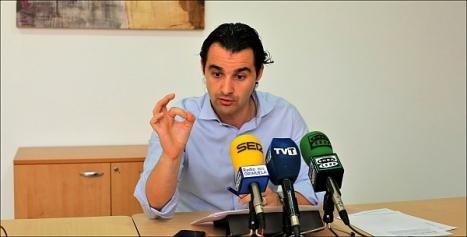 Eduardo Dolón, portavoz del Grupo Popular (Foto: J. Carrión)
