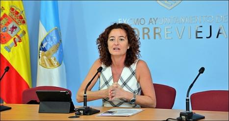 Fanny Serrano, diputada provincial de PSOE (Foto: J. Carrión)