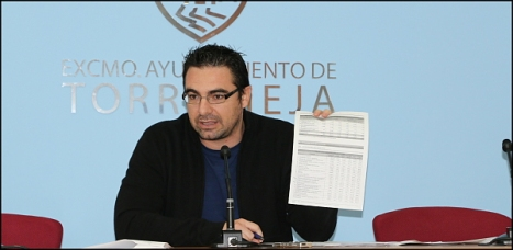 Víctor Ferrández, en rueda de prensa  (Archivo de J. Carrión)