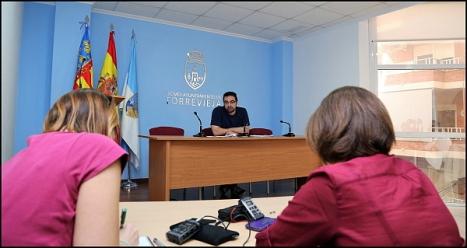 Víctor Ferrández, concejal de Fomento del empleo (Foto: J. Carrión)