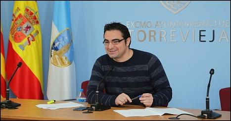 Víctor Ferrández (IU), concejal de Fomento y Empleo (Foto: J. Carrión)
