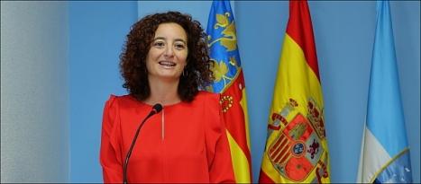 Fanny Serrano, alcaldesa accidental y portavozde la JGL (Foto: J. Carrión)