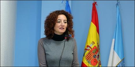 Fanny Serrano, en su intervención de ayer (Foto: J. Carrión)