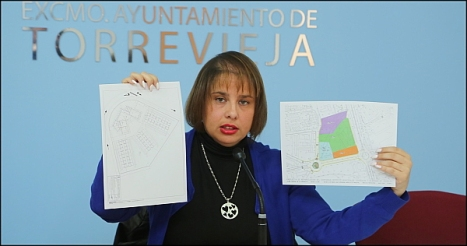 Carmen Morate, ayer en rueda de prensa (Foto: J. Carrión)