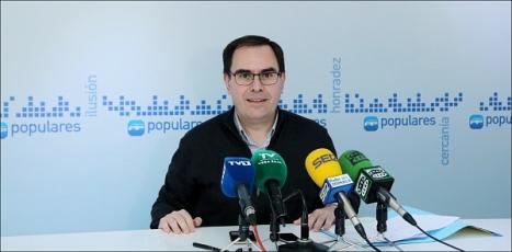Joaquín Albaladejo, Diputado Nacional y Secretario General del PP Local (Foto: J. Carrión)