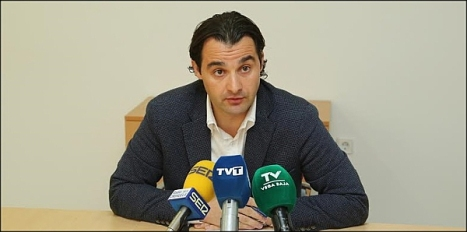 Eduardo Dolón, portavoz del PP en Torrevieja (Foto; J. Carrión)