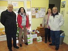 Asociación ASIMEPP, donó a Cáritas