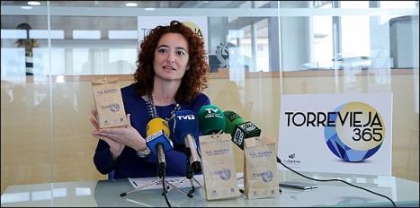 Fanny Serrano en la presentación del Logo (Foto: J. Carrión)