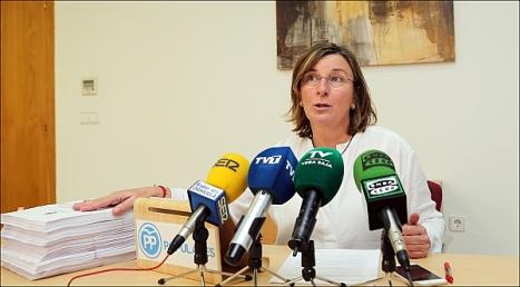 Agustina Esteve, cocnejal del PP (Foto: J. Carrión)