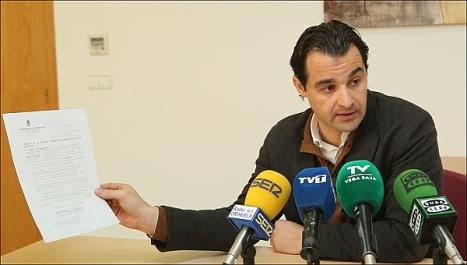 Eduardo Dolón, portavoz del Grupo Municipal del PP (Foto: J. Carrión)