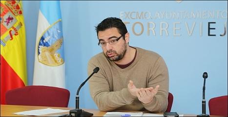 Víctor Ferrández, concejal de Particiàción Ciudadana (Foto Archivo: J. Carrión)