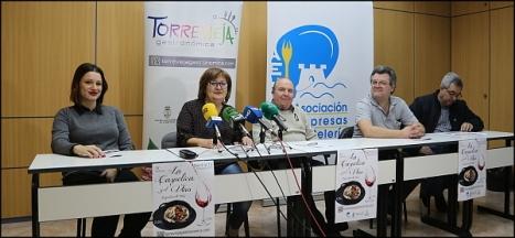 Momento de la ruda de prensa de la AHTC (Foto: Joaquín Carrión)