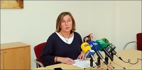 Agustina Esteve, concejal del PP en el Ayuntamiento de Torrevieja (Foto: J. Carrión)