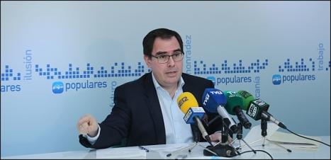 Joaquín Albaladejo, secretario General del PP local. (Foto: J. Carrión)