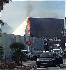VÍDEO: ncendio Carrefour (M.M.G.)