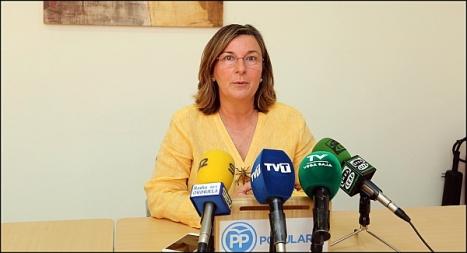 Agustina Esteve, concejala del Grupo Popular (Foto: J. Carrión)