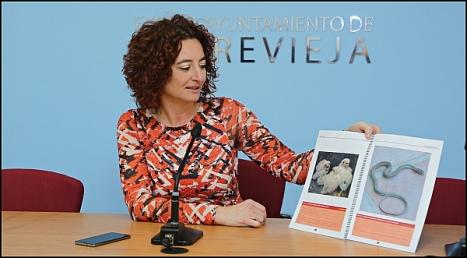 Fanny Serrano, concejal de Medio Ambiete (Foto: J. Carrión)