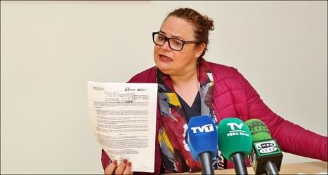 Carmen Gómez, concejal del PP (Foto: J. Carrión)