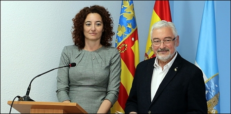 José M. Dolón y Fanny Serrrano (Foto: J. Carrión)