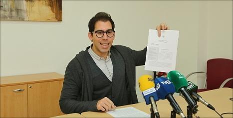 Luis Marí Pizana, concejal del Partido Popular en Torrevieja (Foto: J. Carrión)