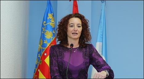 Fanny Serrano, secretaria de la Junta de Gobierno Local (Foto: J. Carrión)