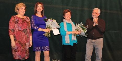 Mari Ángeles Aráez y Doña Lolita, Galardonadas el pasado año