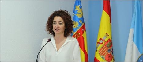 Fanny Serrano, secreatria de la JGL (Foto: J. Carrión)